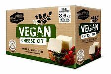 Mad Millie Vegan Cheese Kit Makes 3.6kg 8lb Italian Style Cheese just add nuts