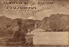 Vintage Souvenir Photo Folder - GARDEN OF THE GODS Colorado 1940's - 20 Photos