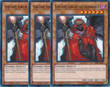 3X Lich Lord, King of the Underworld -SR06-EN005- -Common- Lair of Darkness