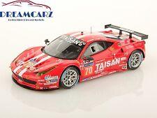 LookSmart LSLM04 1/43 Ferrari 458 GTE Team Taisan #70 Le Mans 2014