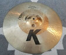 "Zildjian K Custom Hybrid 19"" crash cymbal"