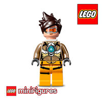 LEGO MINIFIGURE • 75970 OVERWATCH TRACER with Accessories NEW