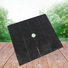 Weed Control Ground Cover Weed Barrier Non-Woven Tree Protection Mats for Garden