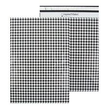 Houndstooth Printed Poly Mailers 145x19 Pack Of 50
