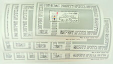 Israel Minisheet 1982 Road Safety  MNH Lot 13 Pieces