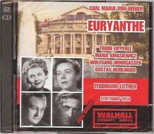 Weber: Euryanthe - Leitner / Stuttgart 1954 - 2 CD, NEU