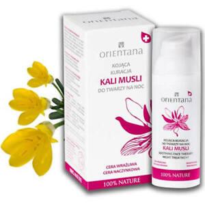 KALI MUSLI SOOTHING FACE THERAPY for NIGHT - 98% Natural - Vegan - FREE P+P