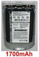 Coque + Batterie 1700mAh type LGIP-A1700E SBPL0081101 Pour LG VX8100