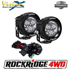 Vision X 3.7″ CG2 MULTI LED LIGHT CANNONS *Pair* 42 Watt 4,500 Lumens Fog lights