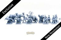 The Frozen Horror, Barbarian Quest new resolution!!! - Heroquest - Minis3D