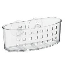 InterDesign Bathroom Shower Suction Caddy Basket for Shampoo Conditioner Soap