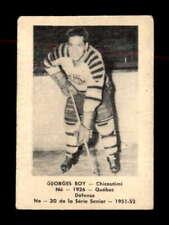 1951 Laval Dairy QSHL #30 Georges Roy  G/VG X1816176