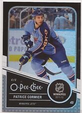 2011-12 Upper Deck O-Pee-Chee Rainbow Black #444 Patrice Cormier #008/100