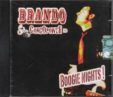 "BRANDO E CONGOPOWER TRIO - RARO CD FUORI CATALOGO "" BOOGIE NIGHTS ! """
