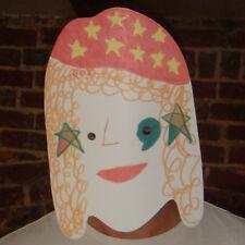 Cabeza de Mans en Blanco Diversión Niños crear una Celebridad Fiesta Máscara-todas las máscaras son pre-corte!