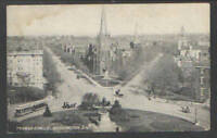 1910 THOMAS CIRCLE WASHINGTON DC POSTCARD