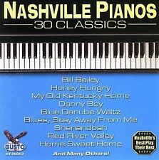 """NASHVILLE PIANOS, CD """" 30 CLASSICS"""" NEW SEALED"""