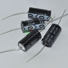 10pcs 500V 22uf 105C New long leads Axial Electrolytic Film Capacitor audio amps