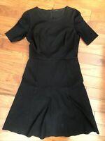 Elie Tahari Womens Sleeveless Dress Black Size 4
