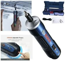 Bosch GO Smart Cordless Screwdriver Electric Kit Lithium Rechargeable Tool Drill