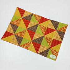 Indian Summer Patchwork Quilt Single Cotton Placemat