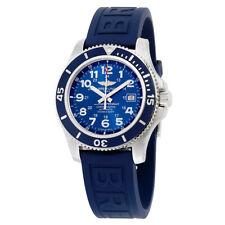 Breitling Men's A17392d8-c910-158s Superocean II 44 Automatic Blue Rubber Watch