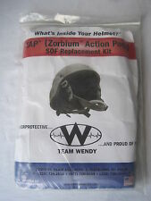 NEW Replacement Pad Set ACH Helmet ZAP ZORBIUM ACTION PADS TEAM WENDY MSA