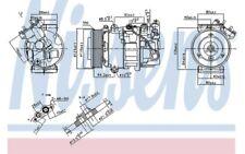 NISSENS Compresor aire acondicionado 890299
