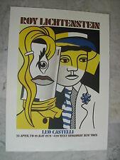 Roy LICHTENSTEIN 1979 .POP ART. Galerie Leo CASTELLI.