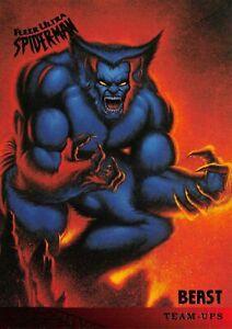 BEAST / Spider-Man Fleer Ultra 1995 BASE Trading Card #109
