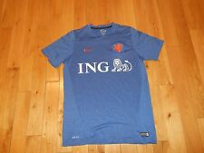 Nike 2014 KNVB Royal Dutch FC Holland Netherlands Soccer Training Jersey Mens Lg