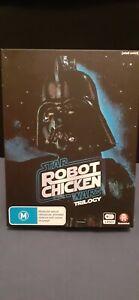 ROBOT CHICKEN  - STAR WARS TRILOGY - BOX SET  - REGION 4 - $45