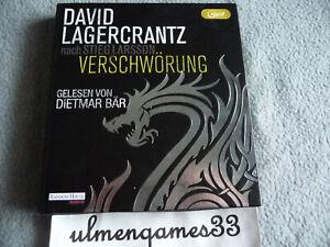 mp3 CD Hörbuch ★ VERSCHWÖRUNG David Lagercrantz  ★ SEHR GUT