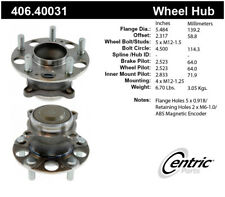 Wheel Bearing and Hub Assembly-Premium Hubs Rear Centric 406.40031