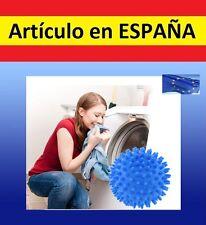 BOLA para LAVADORA secadora DISOLVENTE DETERGENTE ropa marcas manchas lavar seco