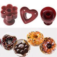 Donut Maker Cutter Fondant Cake Bread Desserts Bakery Baking Tools K