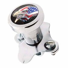 Polished Steering Wheel Spinner Suicide Brody Knob Rod Car Truck USA FLAG EAGLE