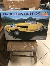 Mercedes Benz 540 K  1936 Kit 1/16 SCALE