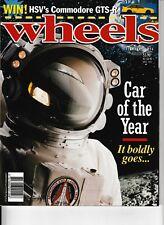 WHEELS magazine February 1996 COTY Car of the Year Honda Oddyssey Aston Volante
