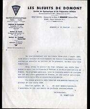 """DOMONT (95) SPORT GYMNASTIQUE BLEUETS & PREPARATION MILITAIRE """"H. SOMVILLE"""" 1939"""
