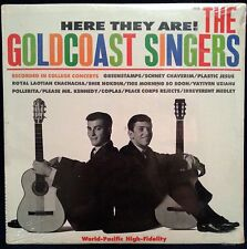 HERE THEY ARE! THE GOLDCOAST SINGERS LP WORLD PACIFIC (WP-1806) SEALED MONO!