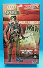 "BBI 34332 ELITE FORCE 1/6 WWII IJN PEARL HARBOR PILOT 12"" 2002 ACTION FIGURE EXC"
