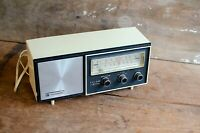 Vintage Panasonic Solid State Electric Radio Model RE-6137 FM-AM 2-BAND