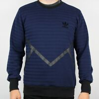 Vintage ADIDAS ORIGINALS Navy Blue Sweatshirt Jumper | Retro Trefoil | Large L