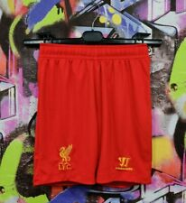 Liverpool Fc Reds Football Soccer Training Shorts Warrior Boys Youth size M