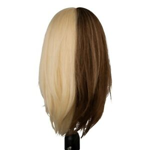 "Hairart Emma Two Tone Mannequin Head 16"" 40cm - 140212"