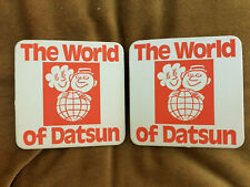 """The World Of Datsun"" Collectable Drinks Coaster Mint"