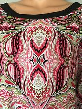 East 5th Women XL Tunic Paisley Designer Fashion Boho Chic Gift