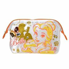 Disney Store Japan Beauty and Beast Belle Bijou Jewel Gem Cosmetic Makeup Bag