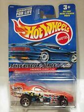 2000 Hot Wheels #037 Speed Blaster Series #1 of 4 Firebird Funny Car Orange